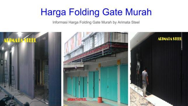 gambar untuk harga folding gate murah